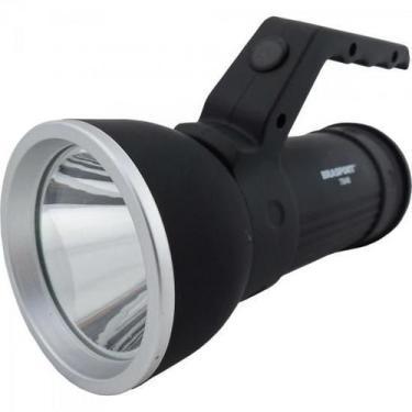 Luminaria LED Sirius Preta Brasfort