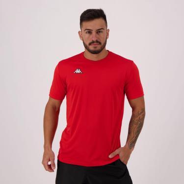 Camisa Kappa Modena Vermelha - GG