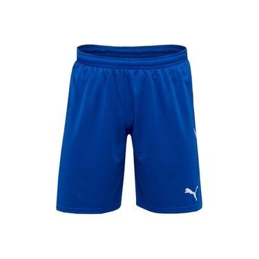 Calção Puma M Liga Shorts With Brief Azul/branco