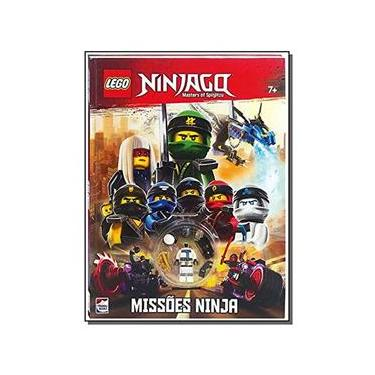 Imagem de Livro Infantil - Lego Ninjago - Mestres do Spinjitzu - Missões Ninja - Happy Books