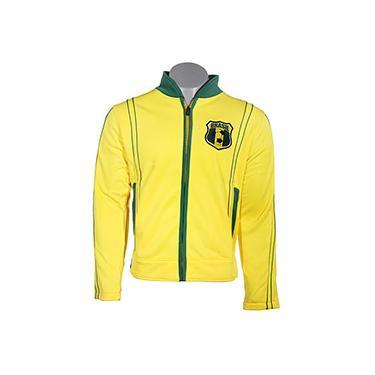 Jaqueta de Helanca Amarelo/Verde Brasil - FIFA