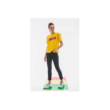 Camiseta Cavalera One Love Amarelo