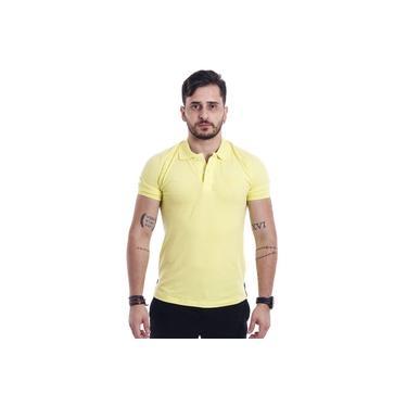 Camisa Polo Masculina Amarelo M. Pollo