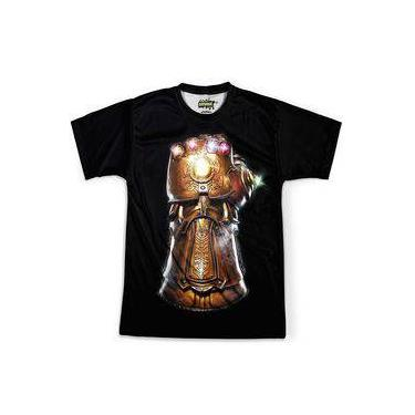 Camiseta Masculina Manopla Do Infinito Thanos Joias Md01
