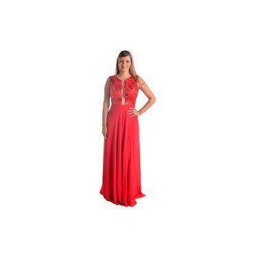Vestido De Festa Vermelho - Casamento, Madrinha, Formatura