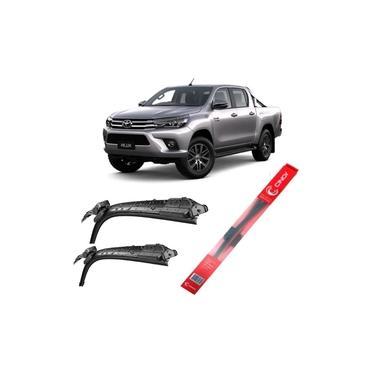 Palhetas Limpador Para-brisa Toyota Hilux 2015 2016 2017 18