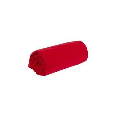 Lençol avulso king sem elástico microfibra - vermelho LE