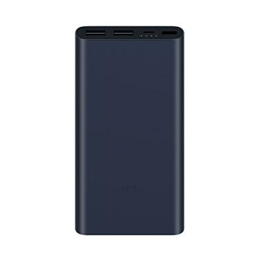 Carregador Portatil Powerbank Xiaomi 10000mah - Black