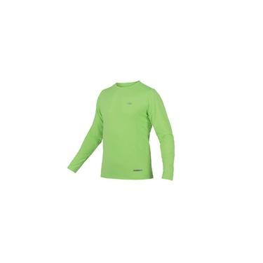 Camiseta Masc Proteção UV Body Fit Mormaii Manga Longa / Verde limão / P