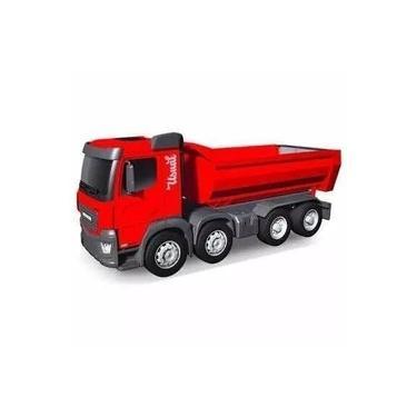 Imagem de Caminhão Huracan Caçamba Usual Brinquedos Para Criança