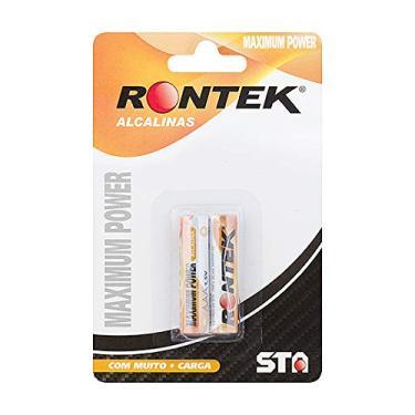 Pilha AAA 1.5v Alcalina C/ 2 Unidades Rontek