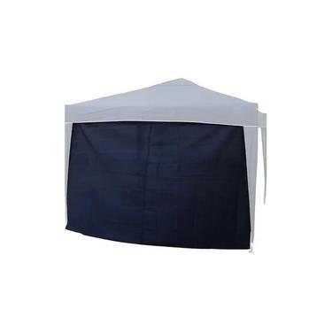 Parede Fechamento Lateral Tenda Gazebo Azul Nautika Trix 3x3 CIKALA