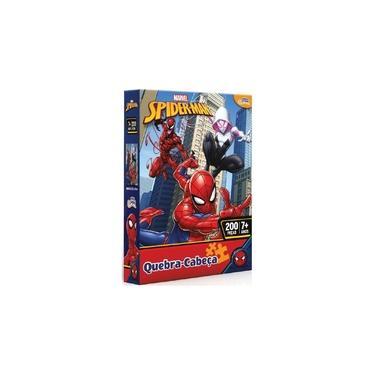 Imagem de Quebra Cabeça Marvel Spider Man 200 peças da Toyster 8023
