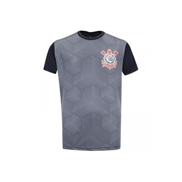 Camiseta do Corinthians Cubos - Infantil