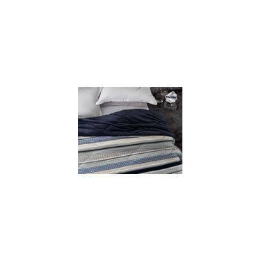 8a6131b2f3 Edredom Attuale Azul Aveludado Dupla Face Corttex