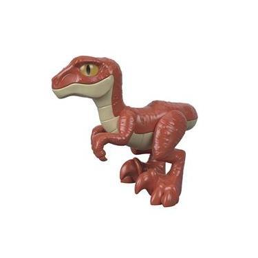 Imaginext Jurassic World Red Raptor - Mattel