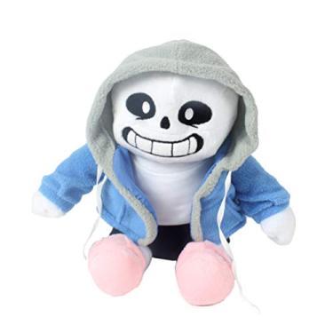 Imagem de Undertale Sans Brinquedos de Pelúcia Boneca de Pelúcia Almofada Cosplay Presentes 22 cm