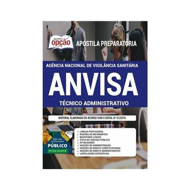 Imagem de Apostila Anvisa - Técnico Administrativo