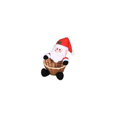Imagem de Decoração de Natal cesta de doces mesa decoração doces