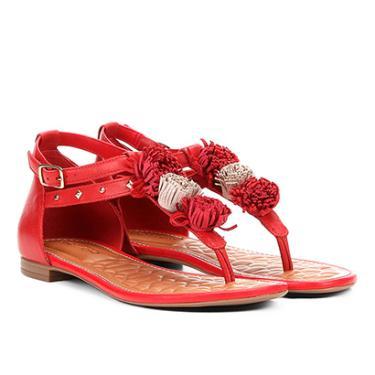 a1acac6a7 Sandália Bottero Vermelho | Moda e Acessórios | Comparar preço de Sandália  - Zoom