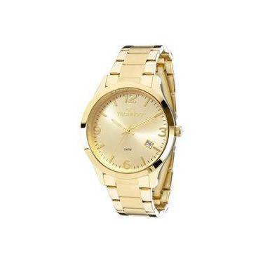 f93c99c987d Relógio Technos Dourado Feminino Elegance Dress Analógico 2315acd 4x