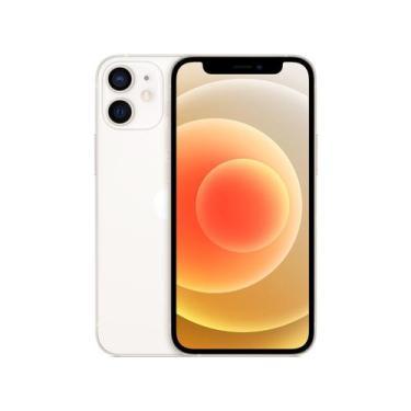 Imagem de Iphone 12 Mini Apple 128Gb Branco 5,4  - Câm. Dupla 12Mp Ios + Carrega