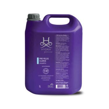 Shampoo Pet Society Hydra Groomers PRO Pelos Claros para Cães e Gatos  - 5 Litros