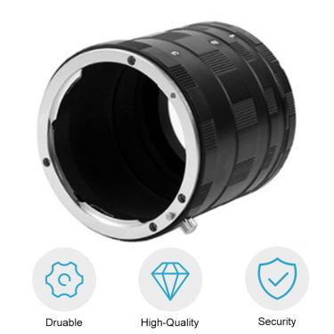 Imagem de Adaptador de câmera Macro Anel Tubo de Extensão Para Nikon d7000 d7100 d5300 d5200 d5100 d5000 d3200
