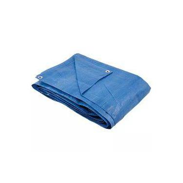 Lona Tipo Carreteiro Encerado Azul 70g/m2 5X3m