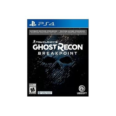Tom C. Ghost Recon Breakpoint Steelbook Ultimate Edition - PS4