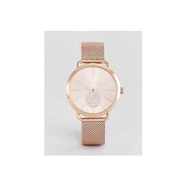 d22924a124c Relógio Feminino Michael Kors Mk3845 Portia Rose 41mm