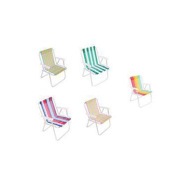 Cadeira De Praia E Piscina Alumínio E Polietileno 25500