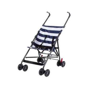 Imagem de Carrinho Para Bebe Guarda-Chuva Baby Azul 6m 15kg BB557