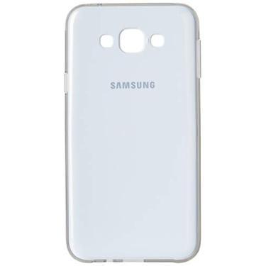 Capa Protetora Premium para Galaxy E7, Samsung, Capa Protetora para Celular, Branca