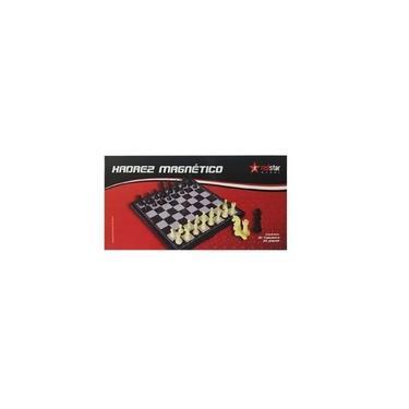 Jogo Xadrez Tabuleiro Magnético 10X10Cm Redstar