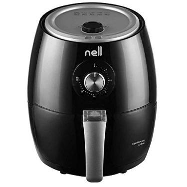 Fritadeira Elétrica Sem Óleo/Air Fryer Nell Smart MAF250 - Preto 2,4l Com Timer 110v