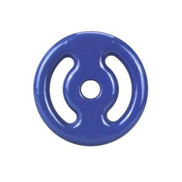 Anilha Emborrachada 2kg - Azul