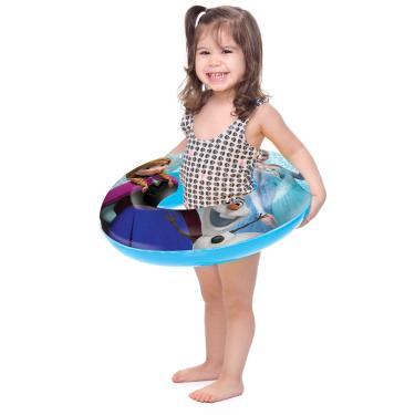 Acessórios de Praia e Piscina - Boia Redonda - Disney - Frozen - Toyster