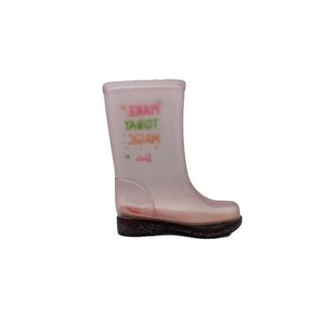 Bota Infantil Feminino Grendene Barbie Fun Day Transparente