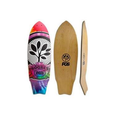 Shape de Skate Cruiser Fish Progress - Pgs - Taidai