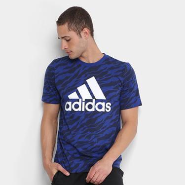 Camiseta Adidas Ess Aop Masculina - Masculino 6b6227c9bb1