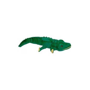 Imagem de Jacaré Croc De Pelúcia Verde 65 Cm Antialérgico