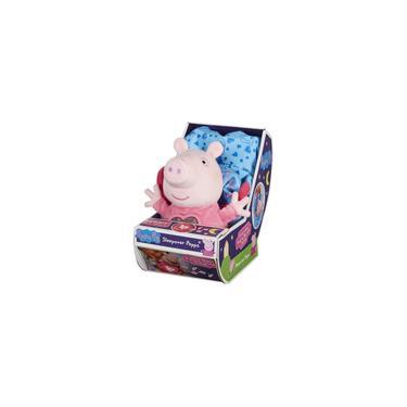 Imagem de Boneca Peppa Pig Pelúcia Com Mecanismo Hora De Dormir 2327