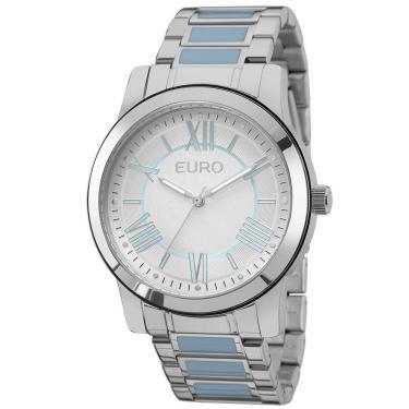 adc8be88faa Relógio Euro Feminino Coleção EU2035YEH 5K - Prata
