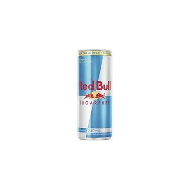 Bebida energética Sugar Free 250ml Red Bull do Brasil L PT 1 UN