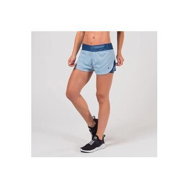 Short Fila Studio Belt Feminino - Azul