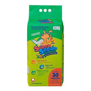 Tapete Higiênico Super Secão Citrus Petix 30 unidades