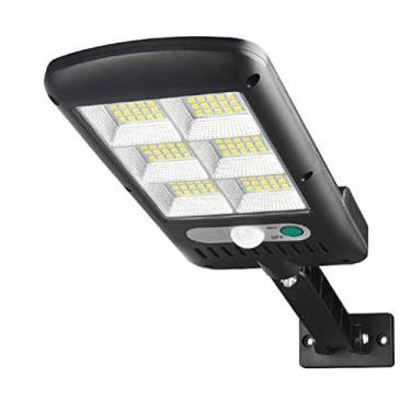 120 LEDs, suporte de luz de rua, sensor de luz solar de jardim, lâmpada de pátio, ferramenta de iluminação LED para uso diário externo