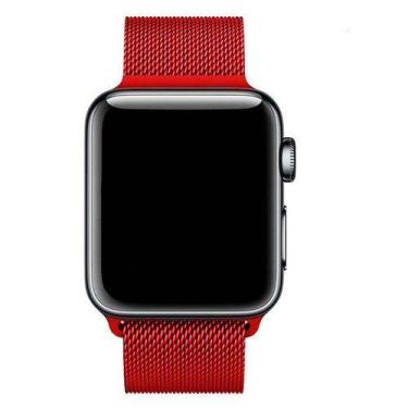 Pulseira Milanese Para Apple Watch Series 1 2 3 4 44mm