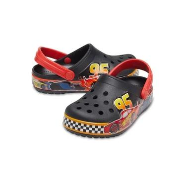 Crocs Infantil Funlab Carros - Preto